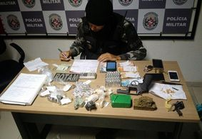 Viúva de traficante é detida com drogas em João Pessoa