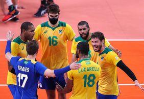 Brasil perde para Comitê Russo e está fora da final do vôlei masculino