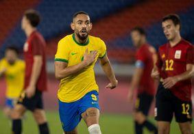 Matheus Cunha é um dos paraibanos na Seleção Olímpica.