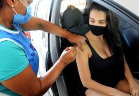 João Pessoa segue vacinação contra a Covid-19 em maiores de 18 anos com comorbidades