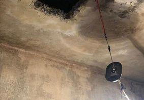 Presos fazem buraco na laje e fogem da delegacia da Lapa