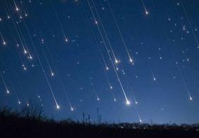 Chuva de meteoros poderá ser vista da Paraíba na madrugada desta quinta (6)