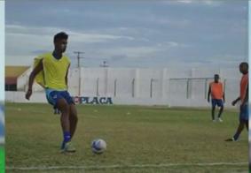 Jogadores do Atlético iniciam a semana treinando