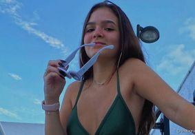 Mel Maia exibe primeira tatuagem nas redes sociais