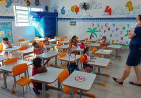 Em setembro, crianças voltaram às aulas presenciais em João Pessoa.