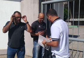 Clube chama polícia ao ser impedido de entrar em estádio para disputar semifinal na PB