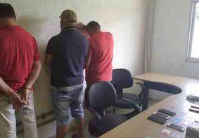 Grupo é preso em flagrante suspeito de tentar abrir conta bancária com documentos falsos em JP