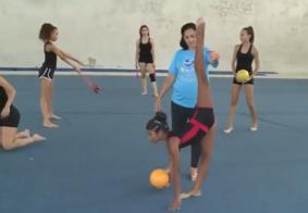 Vídeo: Atletas paraibanas da ginástica rítmica estão se preparando para as competições de 2018