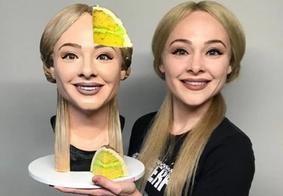 Confeiteira americana cria bolo selfie e faz sucesso nas redes sociais