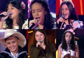 The Voice Kids 2021 já tem seis representantes da Paraíba aprovados; veja