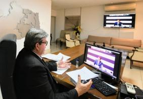 João Azevedo pede envio de insumos e equipamentos para proteção de profissionais de saúde