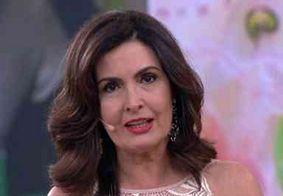 Fátima Bernardes revela que foi diagnosticada com câncer no útero; veja