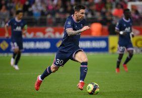 Messi é substituído e se irrita com técnico do PSG