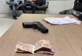 Homem é preso logo após assaltar mercadinho em João Pessoa