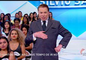 Cabelo de Silvio Santos chama atenção e SBT explica o motivo; Veja o vídeo