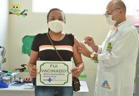 Vacinação em Campina Grande, no Agreste da Paraíba
