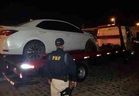 Motorista preso após fugir de blitz na Grande João Pessoa tentou atropelar agentes, diz PRF