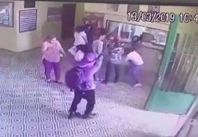 Câmera mostra exato momento do ataque à escola em Suzano