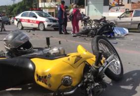 Colisão entre motos mata enfermeiro que estava a caminho do trabalho em João Pessoa