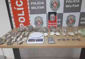 Pela segunda vez, polícia apreende drogas em imóvel de JP