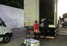 Paraíba distribui lote com 13 mil doses da vacina Coronavac