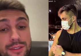 Ex-BBB Arthur rebate críticas e explica o porquê de ter tomado vacina contra Covid-19