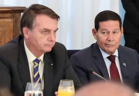 Bolsonaro e Mourão não devem concorrer juntos à reeleição em 2022.