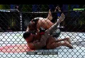 Em estreia no UFC, paraibano vence no primeiro round