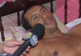 Vídeo: pintor fica paraplégico e família passa por dificuldades