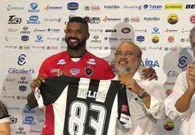 """""""O foco é conquistar os títulos e chegar ao acesso"""", revela reforço do Botafogo-PB"""