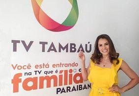 Pronta para 'virar a chave' na carreira, Fernanda Albuquerque estreia na TV Tambaú com o carisma de sempre