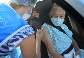 JP volta a aplicar 2ª dose contra a covid em idosos acima de 78 anos