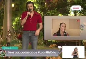Live de Luan Santana alcança mais de 1,5 milhão de espectadores e tem participação de Ivete e Sandy