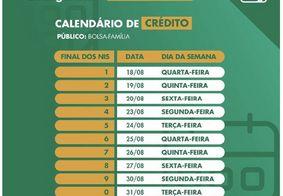 Calendário de pagamentos do Auxílio Emergencial