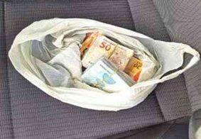 Candidato é preso após ser flagrado com mais de R$ 15 mil na cueca