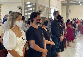Missa de sétimo dia de José Maranhão é realizada em João Pessoa